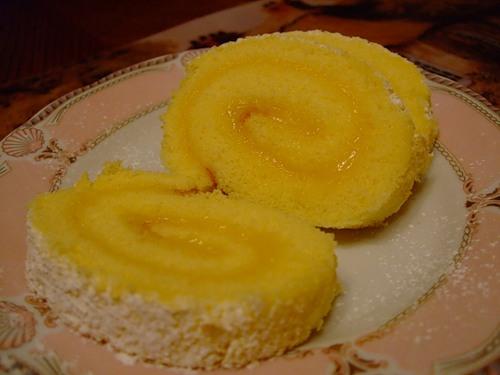 Рецепт рулета с лимонной начинкой