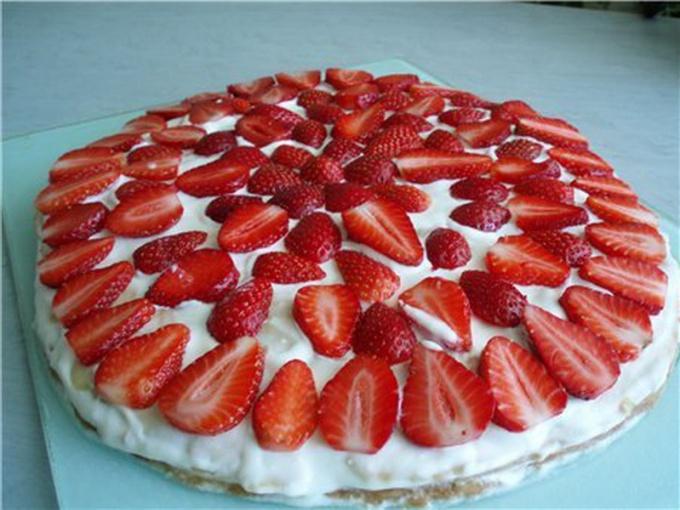 Торт рецепты с фото клубничный