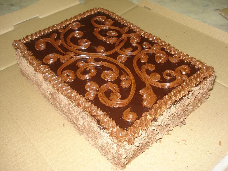 Торт с масленным кремом фото