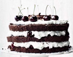 """Шварцвальдский шоколадный торт """"Черный лес"""""""