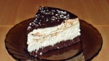 Торт «Баунти» без выпечки. Кокосовое наслаждение своими руками