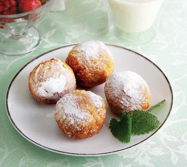 Пончики с сгущенкой рецепт пошаговый с фото