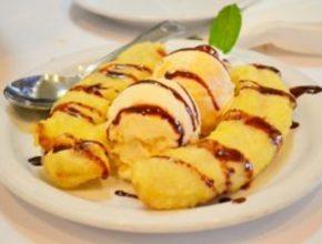 Десерт «Банановое мороженое»