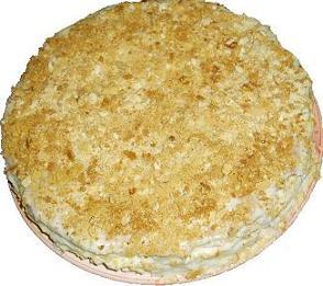 Торт Наполеон с разными кремами