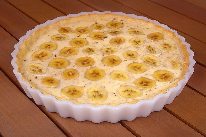 Вкуснейший банановый пирог рецепт с фото