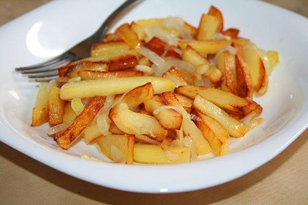 как правильно ивкусно приготовить для детей картошку фри работы