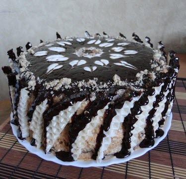 большой торт фото рецепт