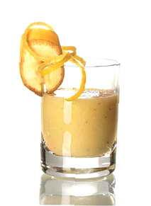 РецептКоктейль «Пьяный банан»