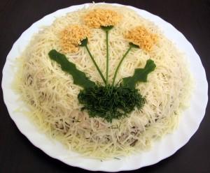 Салат-Одуванчик