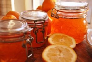 Варенье из апельсинов с алычой