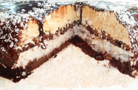 Баунти торт в домашних условиях рецепт с фото
