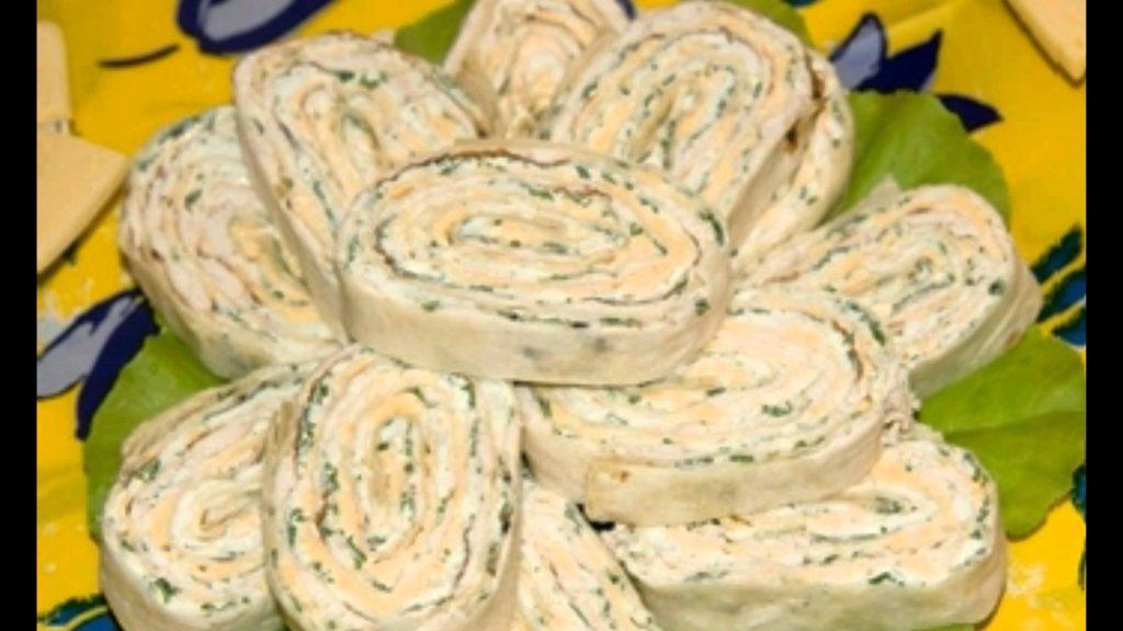 Рецепт рулет лаваш с сыром