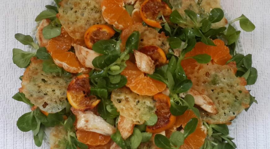 Рецепты быстрых салатов с сыром