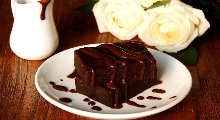 Брауни с горьким шоколадом