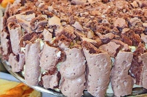 Кофейный торт «Мокко-крем» с безе