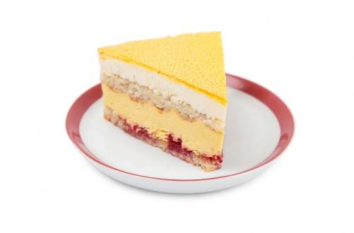 Торт с манговым муссом