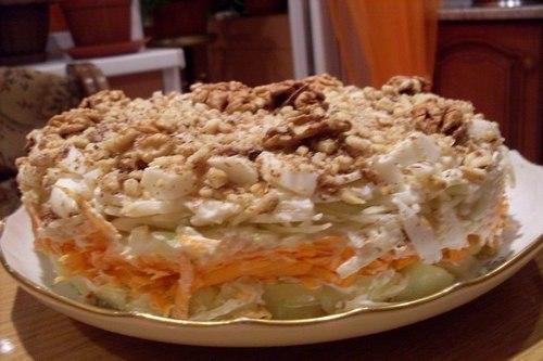 Овощной салат «Кремлевский»