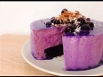Торт птичье молоко черничное / Blueberry mousse cake / Bird's milk