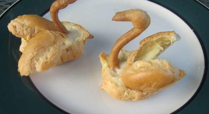 Заварные пирожные Лебеди