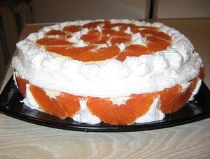 """Торт """"Мечта"""" апельсиновый"""