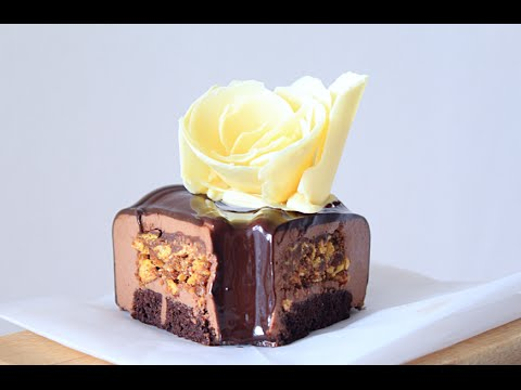 Муссовый шоколадный торт Пралине / Mousse Chocolate Praline cake