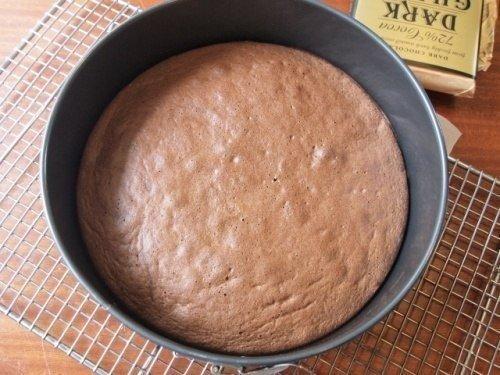 Шоколадный бисквит из белков рецепт 120