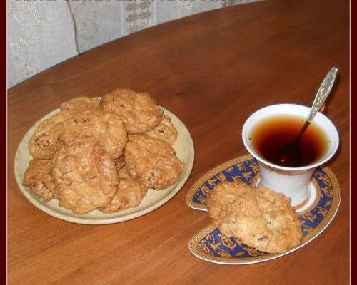 Aмериканское печенье с рубленым шоколадом