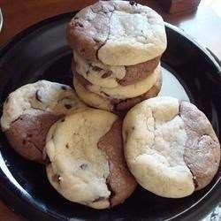 Шоколадное печенье Две половинки