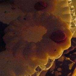 Сливочное печенье с молотым миндалем