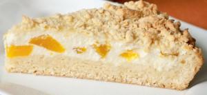 Рассыпчатый песочный пирог с творожной начинкой