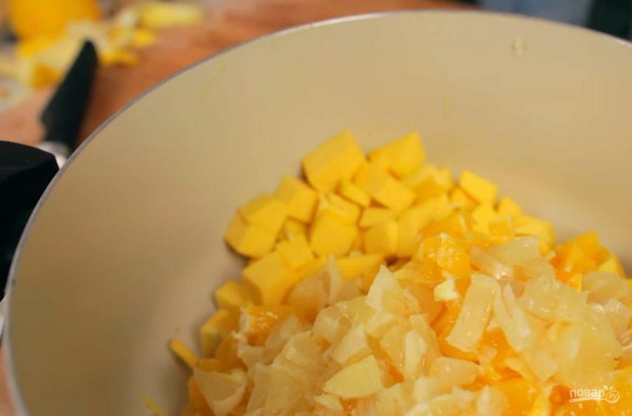 Варенье из тыквы с имбирем