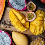 Салат с манго и маракуйей – «Экзотический фруктовый»