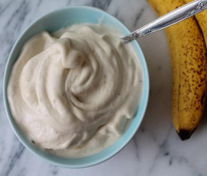 Быстрое банановое мороженое