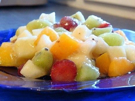 Салат из манго с портвейном – «Эдельвейс»