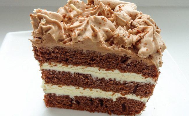 Шоколадный тортик с масляным кремом