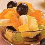 Салат с манго в белом вине – «Виноградный»