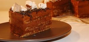 """Шоколадно-ореховый торт """"ДУЭЛЬ"""""""