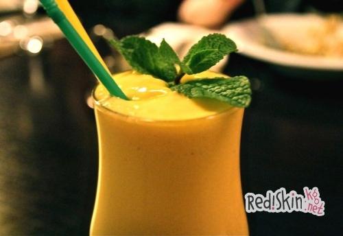 Сливочное смузи с манго