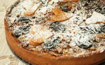 Творожный пирог с вареньем и черносливом «Крошка»