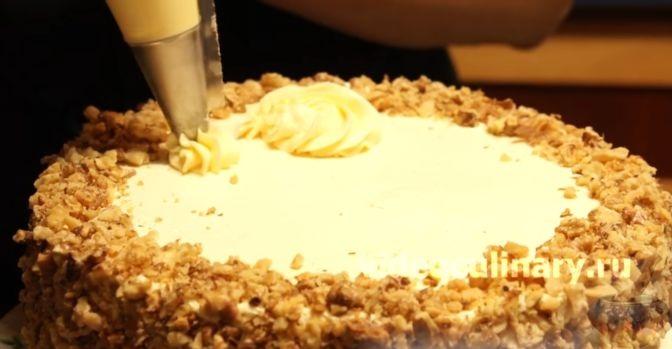 """Бисквитный торт """"Два настроения"""""""