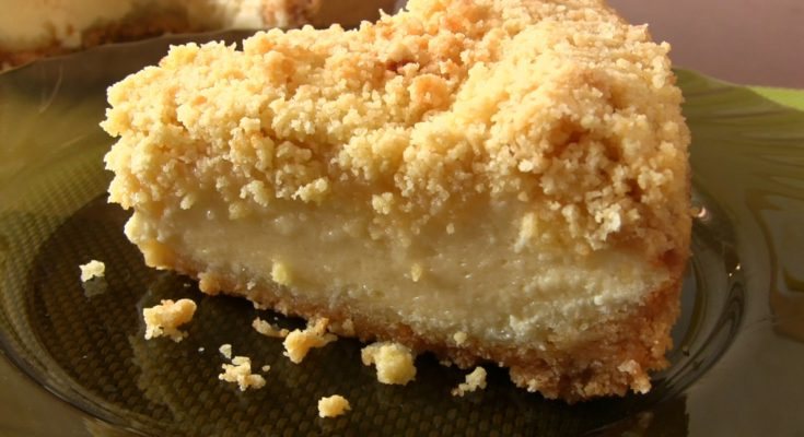 Творожно-яблочный пирог Крошка