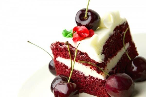 Торт красный бархат ко дню влюбленных