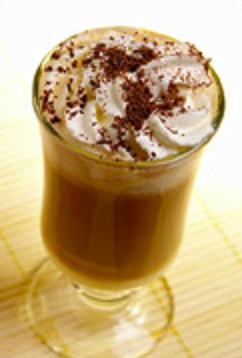 Кофейно-банановый коктейль