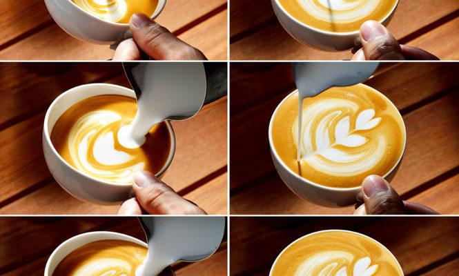 Как рисовать на кофе: две главные техники — легкая и посложнее