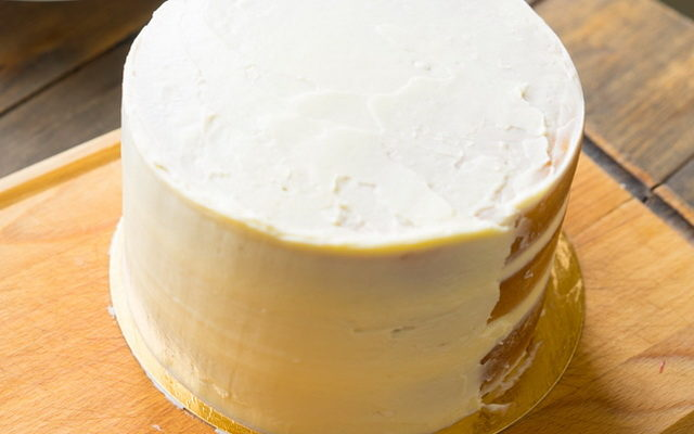 Крем-ганаш из белого шоколада для покрытия торта