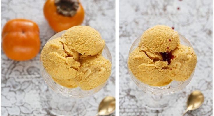 Мороженое из хурмы