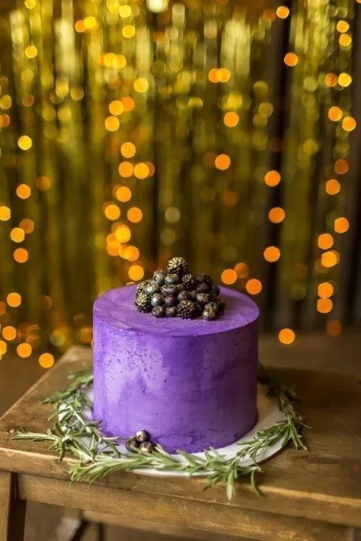 Торт «Черничные ночи»