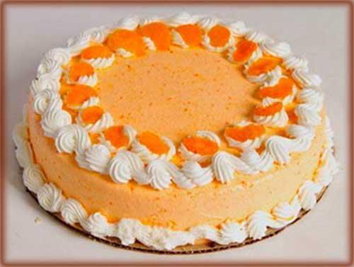 Торт Мандаринка