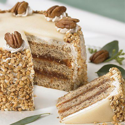 Торт ореховый «Праздничный»