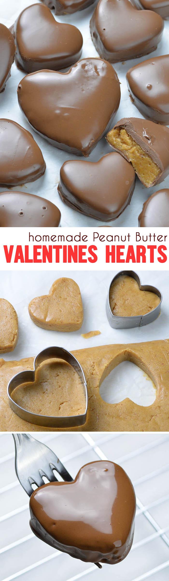 Сердце Валентина шоколадное в арахисовом масле